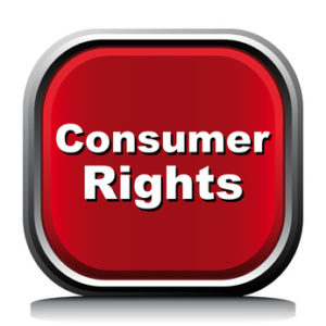 red logo-consumer rights