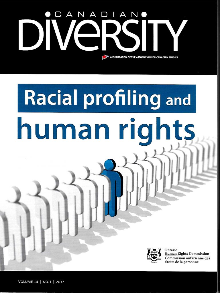 solutions to racial profiling Racial profiling, defined as the targeting of individuals and groups by law enforcement officials, even partially, on the basis of race, ethnicity, national origin, or religion, except when there is trustworthy information, relevant to the locality and timeframe, that links persons belonging to one of the groups to an identified criminal incident or scheme.